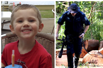 Police continue to search for William Tyrrell.