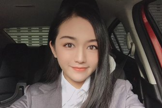 Jess Wu, 24, is stuck in Guangzhou and has lost contact with her employer.