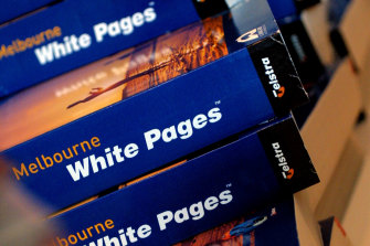 Optus customers' details were published in the White Pages without their consent.