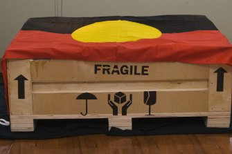 Secret and sacred Aboriginal objects returned to Australia by the Seattle Art Museum.