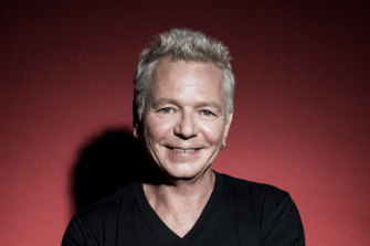 Iva Davies appears in a special 40th anniversary performance, ICEHOUSE Play Flowers, during this year's St Kilda Festival.