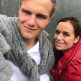 Julia Maguire and boyfriend Andrew Spira, Lizzie Buttrose's son.