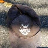 The distinctive hat.