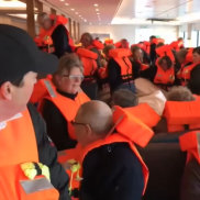 A cruise ship with 1300 people on board is being evacuated off the Norway Coast after engine failure left them stranded in the middle of a storm.