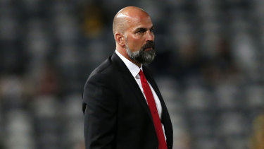 Thank god that's over: Markus Babbel's difficult debut season as Western Sydney Wanderers coach is over.