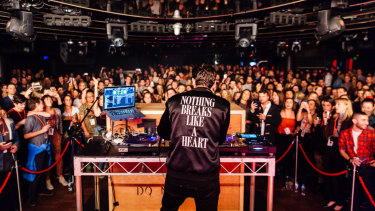 Nova's Red Room with Mark Ronson.