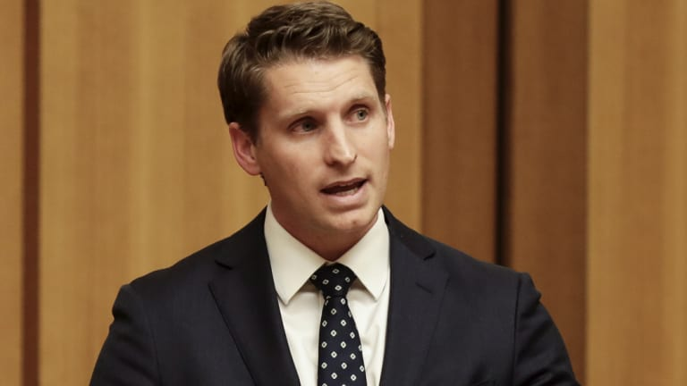 Andrew Hastie was using parliamentary privilege to strike a blow for free speech.