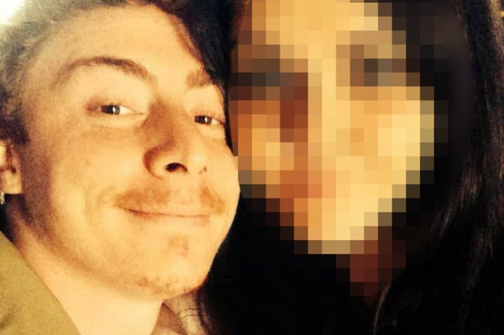 Daniel Russell's partner and father were believed to be at the property when he was allegedly killed.