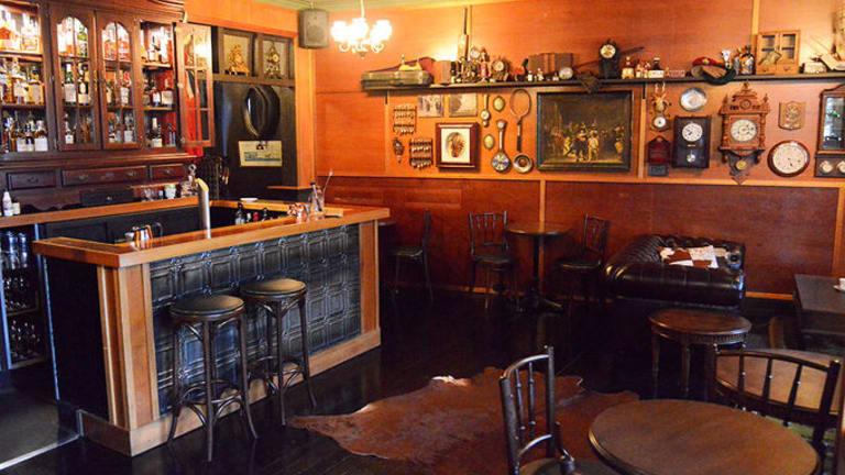 Jack Rabbits Whisky Bar in Woolloongabba is Brisbane's best secret hidden bar – a 1920s jazz speakeasy whose entrance is through an antique wardrobe of clothes.