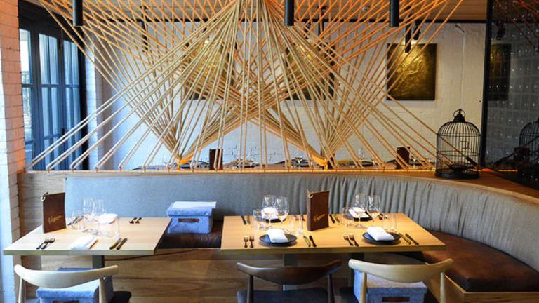 Vaquero Dining is a gorgeous Spanish-inspired dining room and bar hidden from the street in Albion, with a secret entrance via the tiny Euro-style Albion Butchery on Sandgate Road.