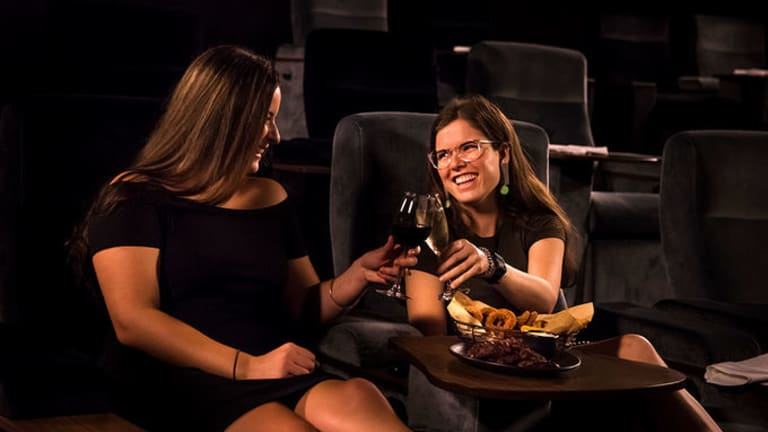 Treat your loved one to a decadent Valentine's Day experience at Dendy Cinemas Premium Lounge.