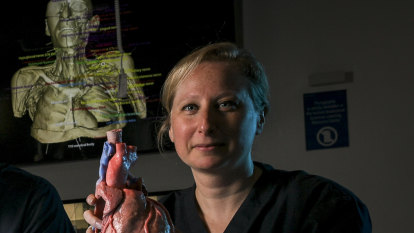 Buster, the perfect human made of plastic, is the future of anatomy