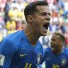 Coutinho, Neymar strike late to eliminate Costa Rica