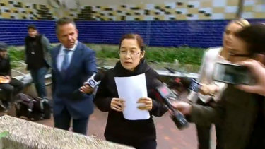 Vonny Ho was granted bail in Parramatta Bail Court on Saturday.