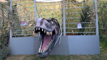 Jurassic Park comes to Brunswick East.