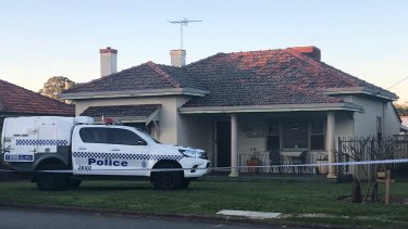 Police are expected to remain at the house for days while investigations are carried out.