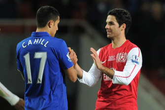 Tim Cahill's close relationship with Mikel Arteta, now the Arsenal manager, helped set in motion Mathew Ryan's loan switch from Brighton.