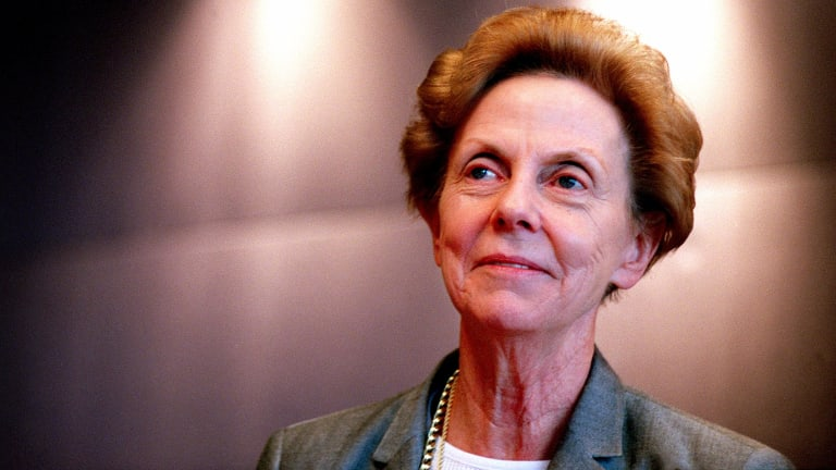 Jill Ker Conway when she was chairman of Lendlease