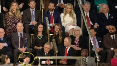 Sixth-grade student Joshua Trump earned a legion of fans online after falling asleep during the State of the Union.