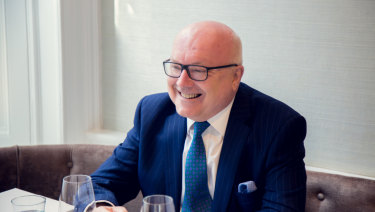 Australia's High Commissioner to the UK George Brandis is a regular at Spring.
