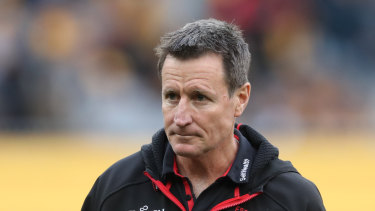 Essendon coach John Worsfold says his side lacked intensity against the Giants.