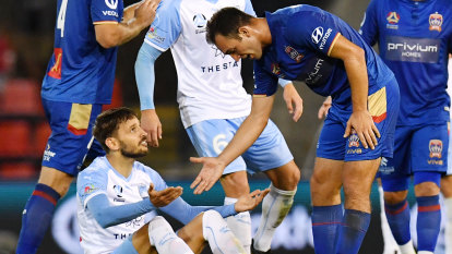 'It's been difficult': Gallop banking on A-League finals momentum