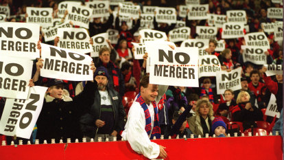 From the Archives, 1996: Proposed Demons, Hawks merger sparks outrage