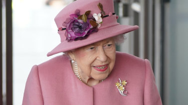 The Queen during the opening of the sixth session of the Welsh Parliament.