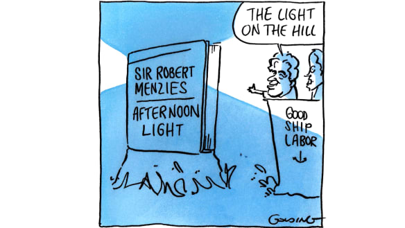 Leading Labor light takes inspiration from great Liberal