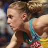 Just getting started: Pearson returns at Australian track champs