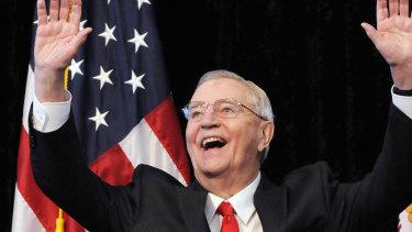 Former US vice-president Walter Mondale.