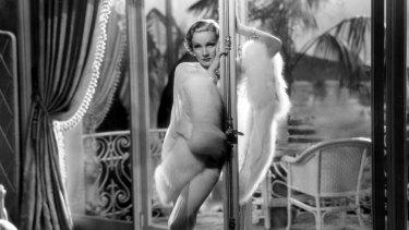 Marlene Dietrich in the 1936 film Desire.