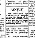 """""""ANZUS"""" - from the SMH, September 3, 1951."""