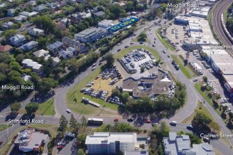 The notorious Indooroopilly roundabout already supports more than 55,000 vehicles a day.