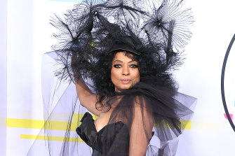 Diana Ross at the American Music Awards 2017.