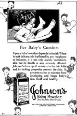 A Baby Powder advertisement from 1930.