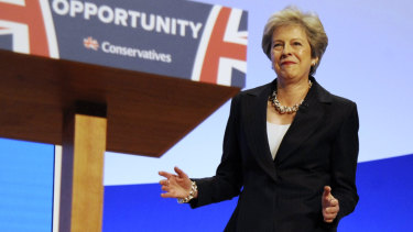 May has been accused of lacking the personal touch.
