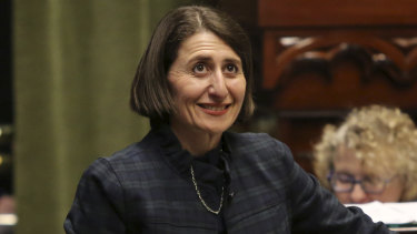 NSW Premier Gladys Berejiklian has announced plans to ban cash donations above $100 to political parties.