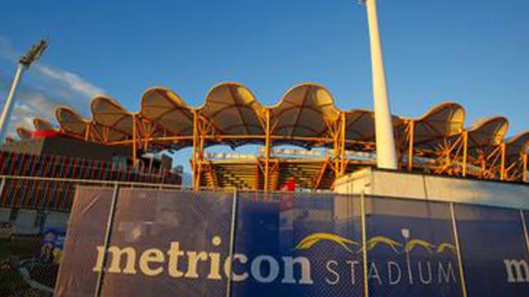 Metricon Stadium on the Gold Coast.