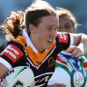 Upton hat-trick seals Broncos victory over Warriors