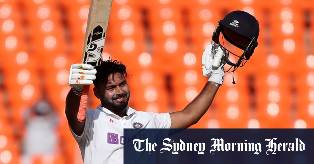 Pant's ton puts India on top and closer to Test championship – Sydney Morning Herald