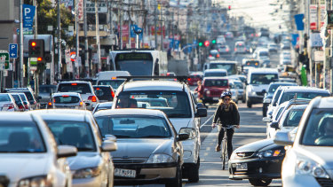 A plan to ease congestion in the City of Moreland by reducing car parks has been controversial.