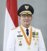 Ridwan Kamil became governor of West Java in 2018 and his term runs until 2023.