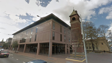 Parramatta Local Court, where bail matters are heard.