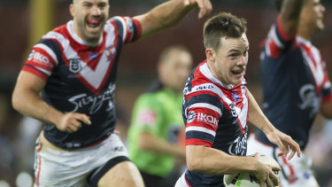 True Blue: Luke Keary has cleared up questions over his allegiance.