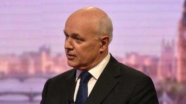 MP Iain Duncan Smith.