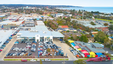 The Jeff Wignall Ford at 20-22 Overton Road Frankston has sold.