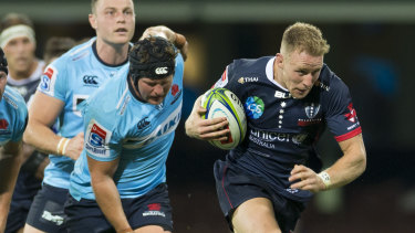 Danger: Reece Hodge (right) fears untimely form slumps could cost Wallaby jerseys.