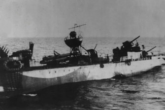 """HMAS Waterhen, to her crew 'the old Chook"""", was the Australian Navy's first loss at the hands of the enemy in World War II."""
