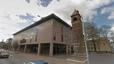Parramatta Local Court, where bail matters are heard.